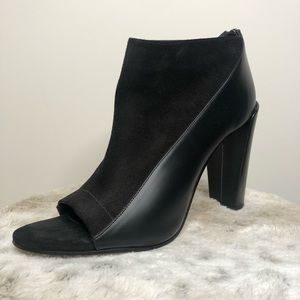 Vince Suede and Leather Heels